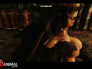 Skyrim Dragon Whore Like Monster 3 Naughty Machinima 1