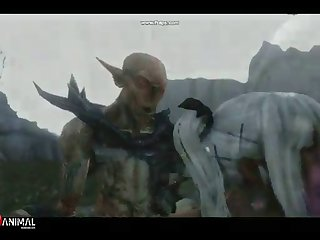 Skyrim Dragon Whore Like Monster 2 Naughty Machinima 1