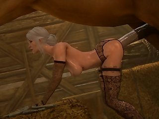 Ciri Getting Railed (darktronicksfm)[horse] (gfycat.com)