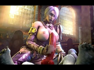 Ivy Valentine Jerking Off A Wolf [soul Calibur](the Firebrand)[dog Wolf] (gfycat.com)