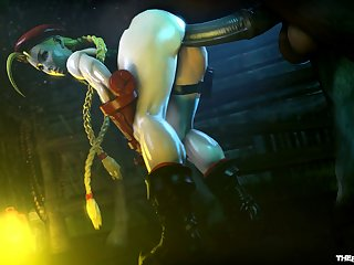Cammy Working A Horsecock (the Firebrand)[horse] (gfycat.com)