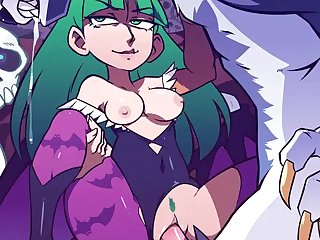 Morrigan Getting Fucked By A Werewolf (speedosausage)[dog Wolf] (i.imgur.com)