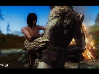 Inappropriate Skyrim Shenanigans 5 Naughty Machinima 2