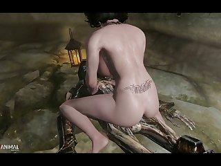 Skyrim Dungeons Naughty Machinima 3