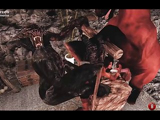 Skyrim Komanim  The Horse & Troll (10 Stages) Naughty Machinima 2