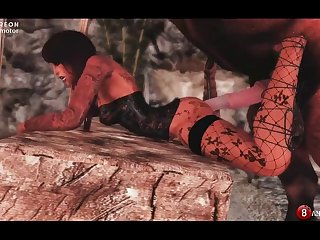 Skyrim Komanim  The Horse & Troll (10 Stages) Naughty Machinima 2