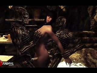 Inappropriate Skyrim Shenanigans 4 Naughty Machinima 1